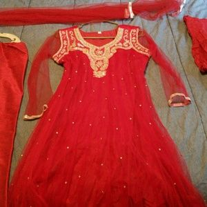 Other - Red Indian Hindu/Muslim outfit